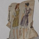 1940s Pattern Simplicity 4868  Small vintage Aprons Sizes Small No. 200