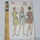 Dress Pattern McCall's 9250 Misses Junior Two Versions Size 10 vintage Bust 32  1/2 No. 200