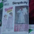 5682 Simplicity nightgown hair bow Barbie & You size BB 5, 6 6xx  No. 201