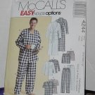 McCalls 4244 Men's Robe Belt Tops Pants Shorts Uncut No. 204