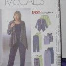 McCalls 4606 Unlined Jacket Top Dress Pants Skirt size RR 18, 20, 22, 24  No. 205