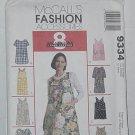 McCall's Fashion Accessories Aprons 9334  No. 203
