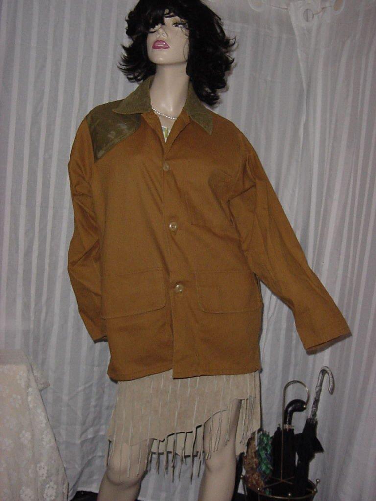 Vintage Men's Saftbak Hunting Game Jacket Marsh Brown No. 191