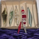 Vintage Lanissa Christmas Ornaments Teardrop Icicle. No. 203