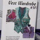 Design and Sew Vest Wardrobe pattern Uncut #301 Lois Ericson  No. 204