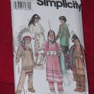 Simplicity 9145 Costume Child's Native American Costumes Uncut  No. 206