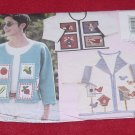 Butterick 4700 Applique Jackets One Size  No. 207