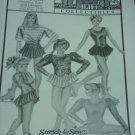 Ann Person 306 Stretch & Sew Skating Dress, Practice Skirt Leotard No. 207