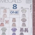 McCall's 7676 Children's Girls Dresses Size CH 7,8,10   No. 207