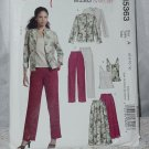 Jacket Top Skirt Pants Stitch n Save McCall's 5363  Size A 6-8-10-12 No. 207