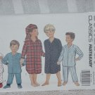 Butterick 6432 Children's Pajamas Night Shirts All Sizes included No. 207