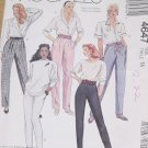 4647 McCall's Misses Pants Size 14 Uncut  No. 208