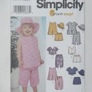 7241 Toddlers Tops Capri Pants Shorts Simplicity Designs by Karen Z  No. 211