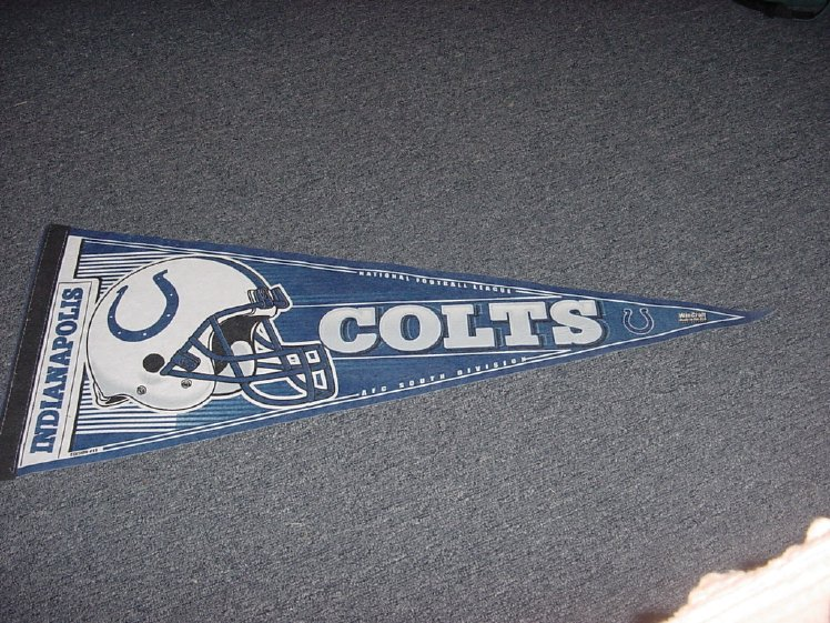 Indianapolic Colts AFC South Division Football Pennant Wincraft Edition11