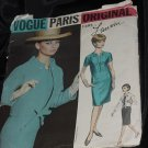Vogue Paris Original 1935 Lanvin Size 12 Dress Jacket  No. 216
