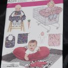 Simplicity 4225 Baby Accessories Pillow Cover Quilt Bunny Seat Doll Bib No. 216