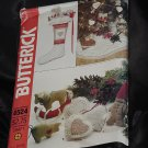 Butterick 4524 Christmas Holiday Patchwork Hand Quilted Lined Stocking Tree Ornaments No. 216