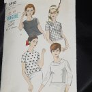 Vogue 6910 Blouses 1950s 1960s Overblouse No. 216
