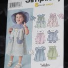 Simplicity 7189 Toddler's Dress  6 made Easy No. 216