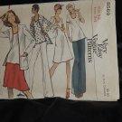 8569 Vogue Misses' Jacket Dress Top Skirt Pants Size 12 Bust 34 No. 216