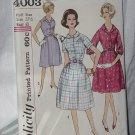 Simplicity 4003  Slenderette Dress Size 22 1/s Bust 43  No. 216