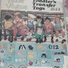 VTG Vogue Sewing Pattern 1844 Toddler Transfer Togs Jumper Jumpsuit Blouse Sz 4 No. 217