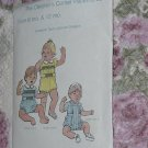 The Children's Corner Patterns 53 Size 6 mo & 12 Mo Elizabaeth Travis Johnson Designs   No. 217