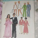 Simplicity 7737 Wardrobe for 11 1/2 inch Dolls No. 217