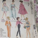 McCall'a 6260 Doll Clothes for Barbie, Babette, Tina, Tina Marie, Liza, Polly and others No. 217