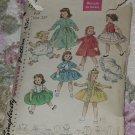 Simplicity 1779 Dolls Wardrobe for Sweet Sue Binnie  No. 217