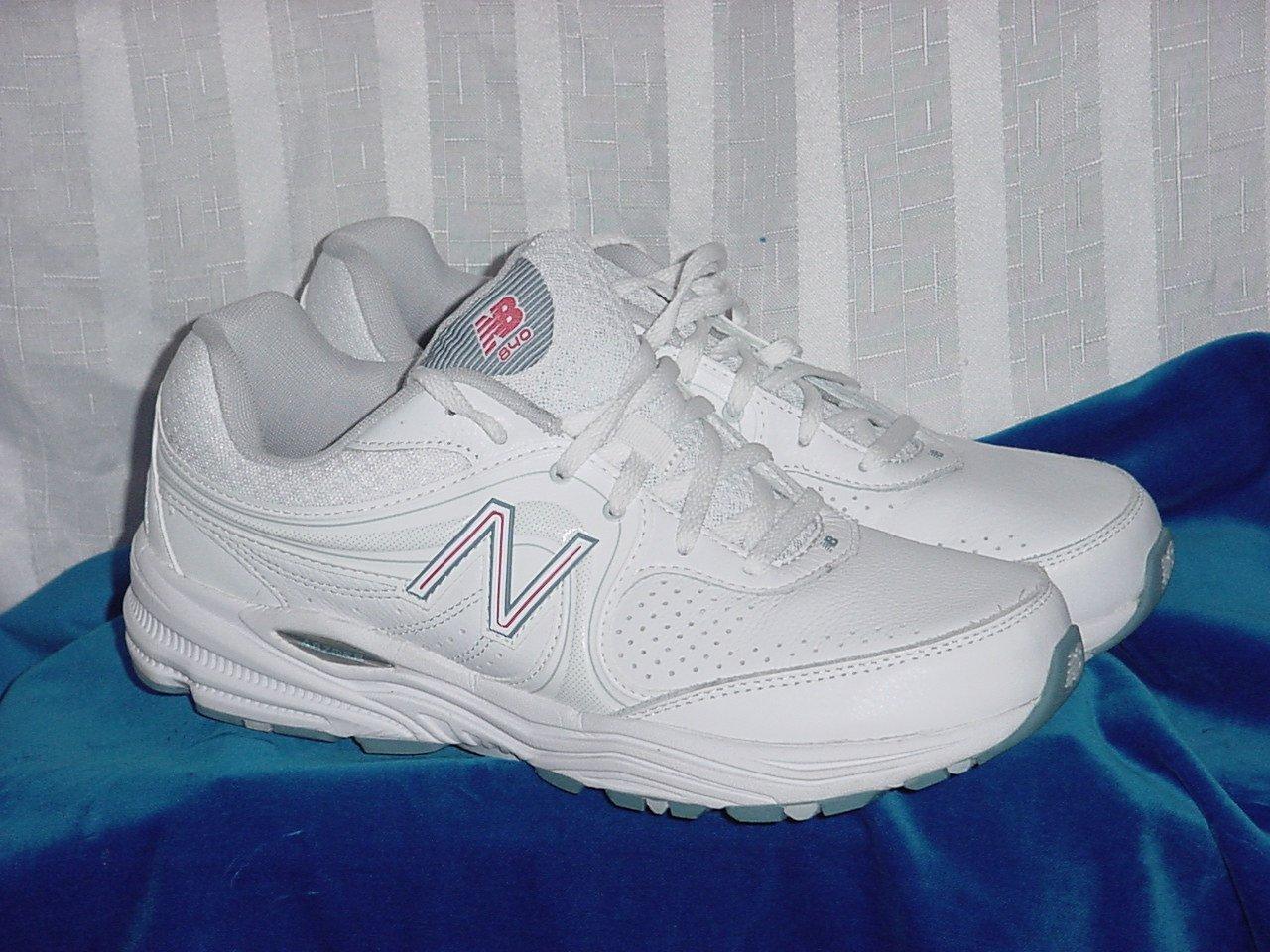 New Balance Women's Walking Training Shoes WW840WP White Pink Size 10 B 189