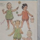 Toddler Bubble Suit Pinafore Simplicity 9395 size 3 No. 220