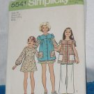 Vintage Simplicity Sewing Pattern 5541 Size 14 chest 32 No. 220