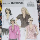 Butterick B5328 Misses' Tops FF 16-22  No. 225