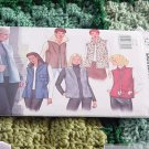 Butterick 3257 Vests size 6, 8, 10 No. 193