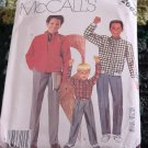 Children's Boys Jacket Shirt Pants McCalls 2663 Size 4  No. 193