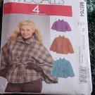 McCalls Capelets Ponchos 5764 Size B5 8-10-12-14-16   No. 225