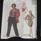 McCalls 5717 Jacket Bustier Skirt Pants Size 14  No. 225