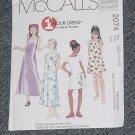 2074 McCalls One Hour Dress   No. 225
