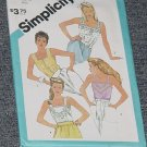 Camisoles Tops Simplicity 6463 Size 10 Bust 32 No. 225