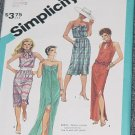Simplicity 6431 Slim Fitting Summer Dress Two Lengths Size R 8, 10, 12     No. 167