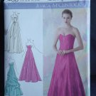 Simplicity 2400 Jessica McClintock Evening Gowns Bolero Size D5 4, 6, 8, 10, 12 No. 226