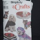 Simplicity Crafts 8928 Dog Bed Covers Coats All Sizes No. 226