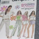 Simplicity 9509 size BB 11/12-15/16  Loungewear pants shorts tops cardigans No. 226