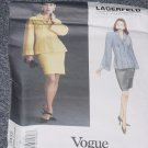 Vintage Vogue 1432 Top Skirt Size 12 Lagerfeld Vogue Paris Original  No. 226