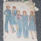 4060 Butterick  Jacket Vest Skirt Pants Size 12  No. 226