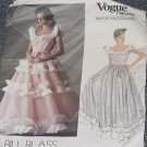 Vogue Patterns American Designer 1146 Bill Blass Size 10 Evening Gown Bridal Gown  No. 227