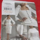 Vogue 8355 Divine Details Top and Skirt Size AA 6-8-10-12   No. 227