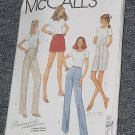 McCall's 9585 Pants and Shorts View A Stretch Knits Only Size  24 Uncut  No. 250