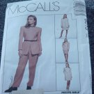 8013 McCall's Sewing Pattern Dress Jacket Skirt Pants Size 12, 14, 16  Uncut  No. 250